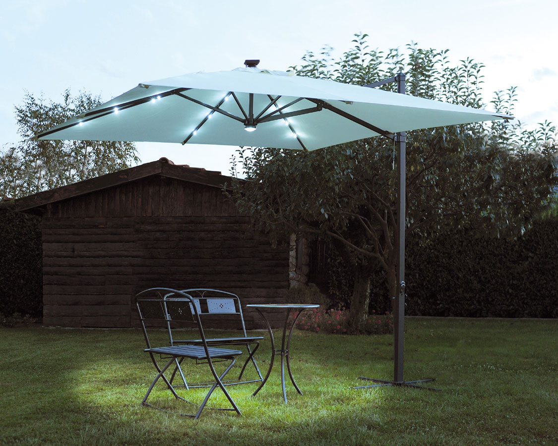 Pannello Solare Per Gazebo : Pannello solare per ombrellone mt ac